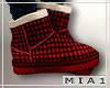 Xmas Couple boots M