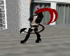 Demon tail,bk,rd,chrome