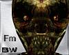 Zombie Skull Head Fm