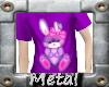 (MM) Kids Bunny top purp