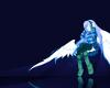 Angel w/ Headphones