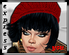 Hat Beret Red