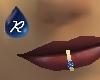 {R} Sapphire lip ring