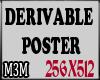 *M3M* Derivable Poster