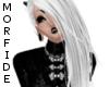 [M] White Clélia Hair.