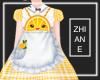 Orange Kawaii Dress