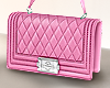 Mila pink purse