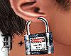 D+ Lock Ears Silver