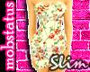 [MJ] Floral SLIM Dress 2
