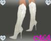 !MA! White Cowboy Boots