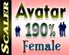 Avatar Resizer 190%