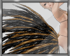 *D Gold Feathers