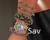 Bracelets and Watch