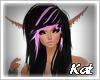 Kat   Loren black purple