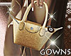 Mini Handbag - Golden