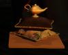 Magic Lamp/Pillows Decor