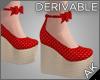 ~AK~ Pinup Wedge Heels