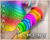[Is] Rainbow Arm Warmers