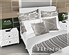 H. Bed and Nightstands