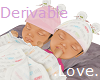 .Love. Derivable Twins