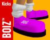 BOIZ Kicks Hot Pink