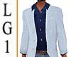 LG1 Blue Blazer & Shirt