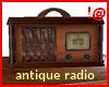 !@ Antique radio