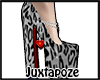 Black Leopard Print Pump