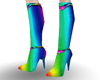 Blast~O~Rainbow Boots