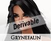 Derivable long hair 3