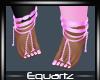 Pink Feet Straps