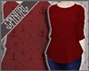 ⚓   Casual Sweater Red