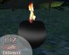 Decoration fire Vase