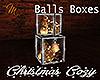 [M Christmas Balls Boxes
