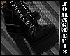 Ink Dark Platform Boots