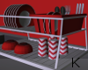 """ Red Loft Dish Rack"