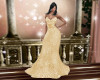 Angel Sparkle Gown Gold
