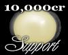 !ct! 10k Support Sticker