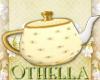 Crumpet Tea Hand Teapot