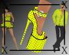 .X. Sasha Heels Yellow