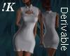 !K!Sleevless Tight Dress