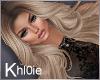 K Ann blonde med lux