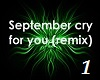 Cry for You - Remix 1