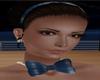Satin Sapphire Bow tie