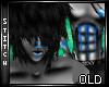 :B Blue Monster Fur [M]