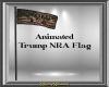 Anim Trump NRA Flag