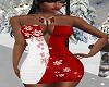 FG~ Snowflake Red/White