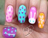 Easter Nails Bunny