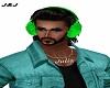Green earmuffs /M