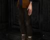 Merlin pant blackbrown